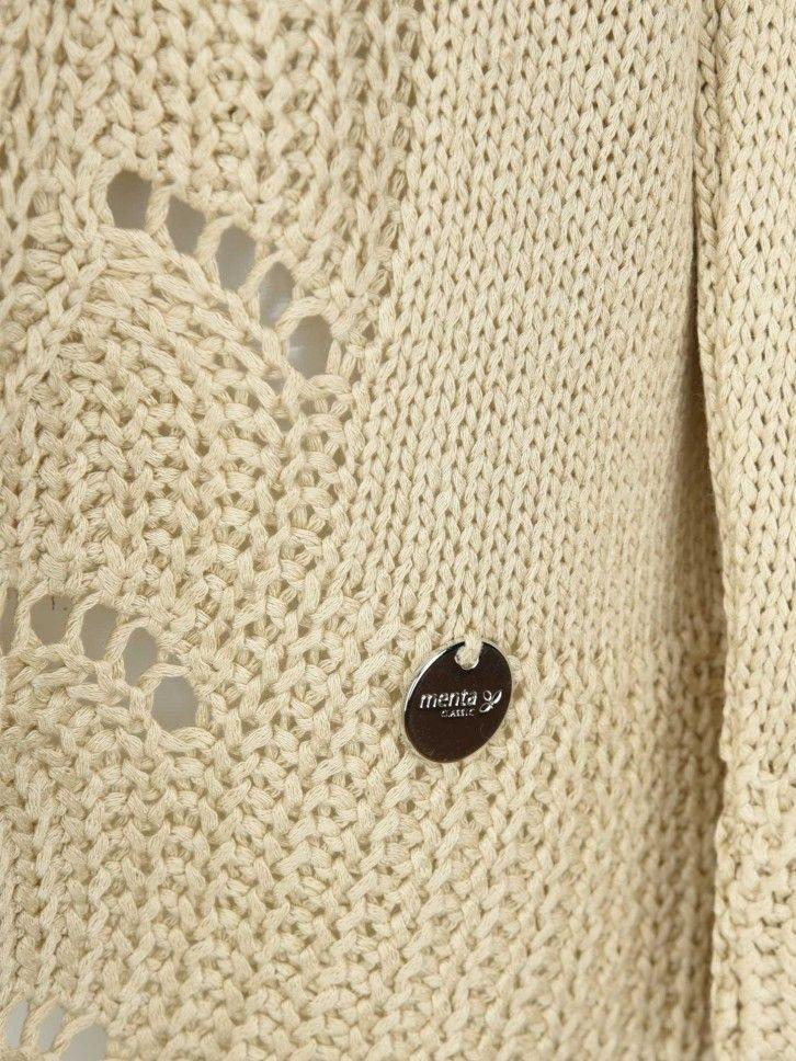 Casaco de Malha Tricotada