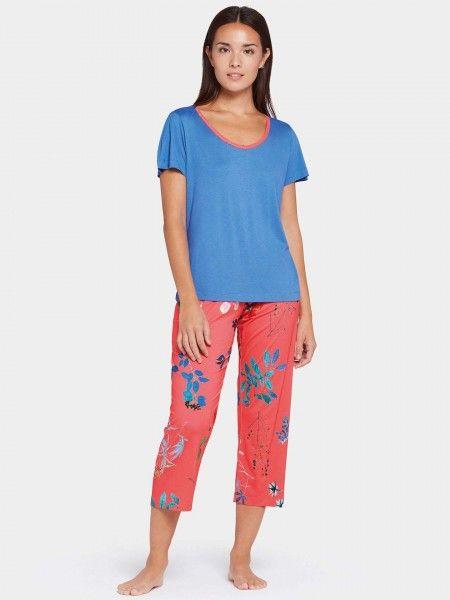 Conjunto Pijama Padrão Floral