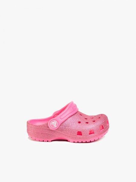 Sandálias Crocs Classic Glitter Clog