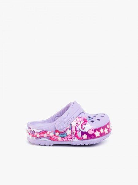Sandálias Crocs FunLab Unicorn