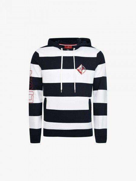 Sweatshirt às Riscas