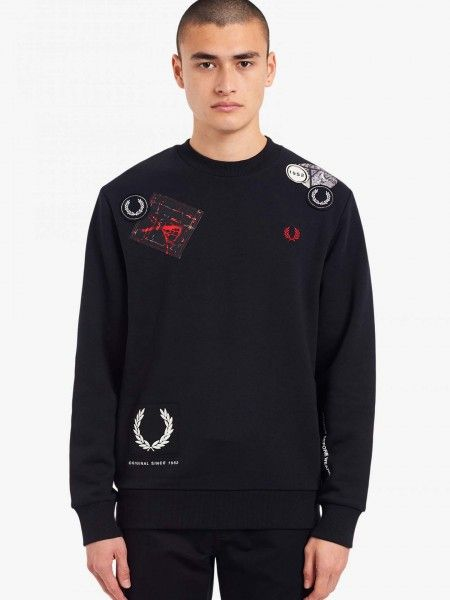 Sweatshirt com Patches