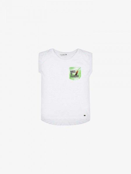 T-Shirt com Bolso Regular Fit