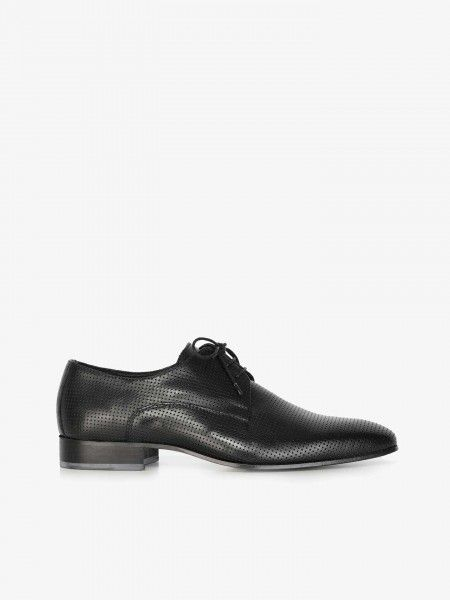 Sapatos Derby Perfurados