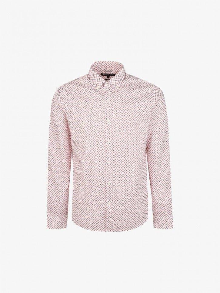 Camisa Regular Fit com Padrão
