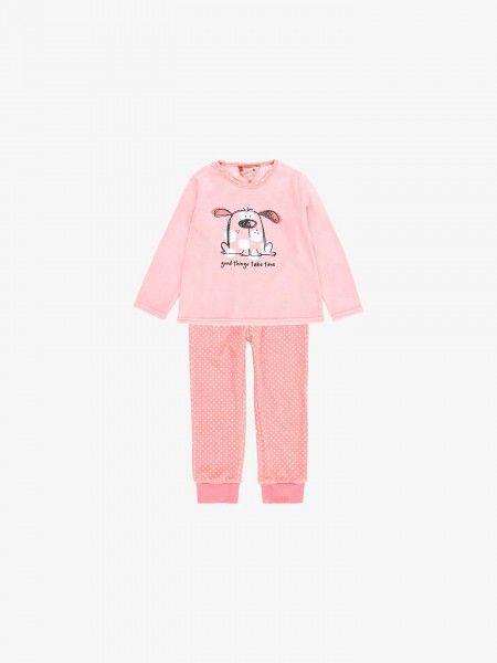 Pijama de Algodão Estampado