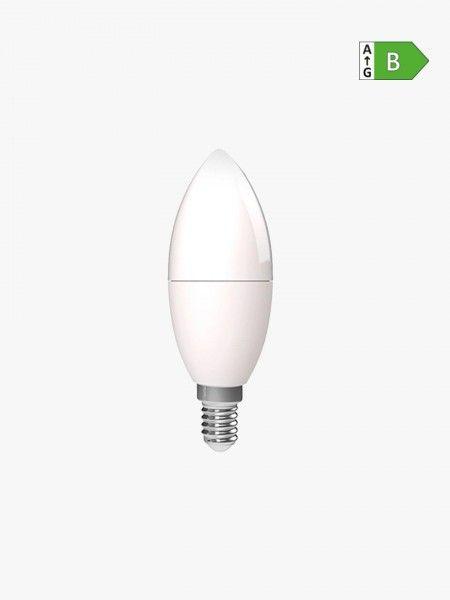 Lâmpada WiFi-LED E14 5.5W RGB+CCT