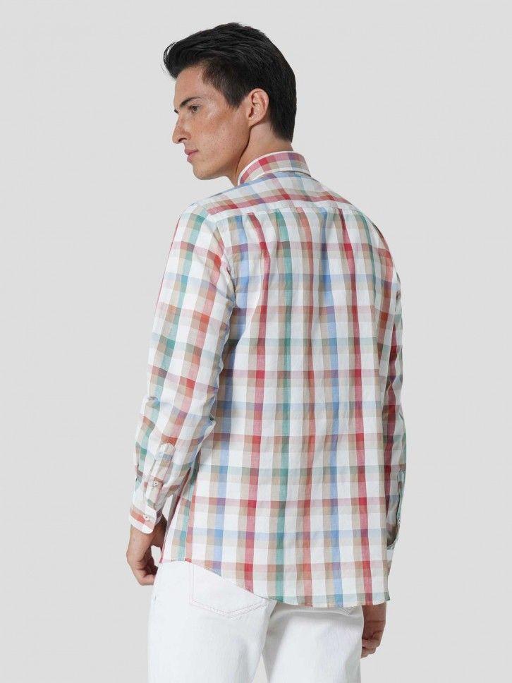 Camisa Regular Fit ao Xadrez