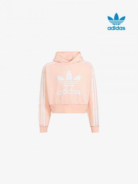 Sweatshirt Cropped co Capuz