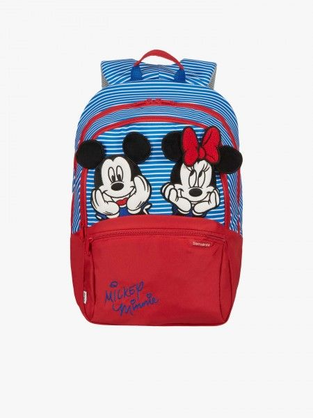 Mochila Escolar Infantil Minnie e Mickey M