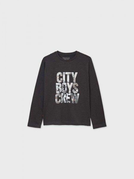 """Camisola """"city boys crew"""""""