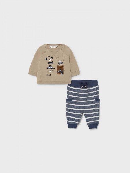 Conjunto Sweatshirt e Calças Jogger