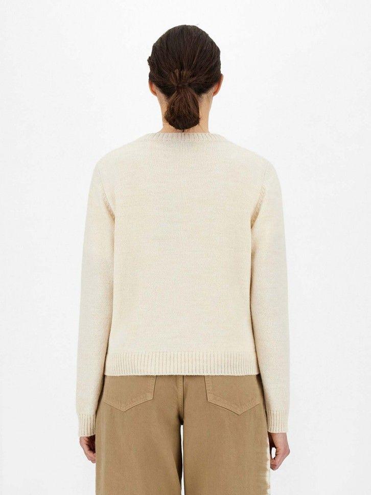 Camisola de Malha em Lã