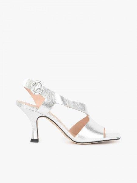 Sandálias de Salto Fino