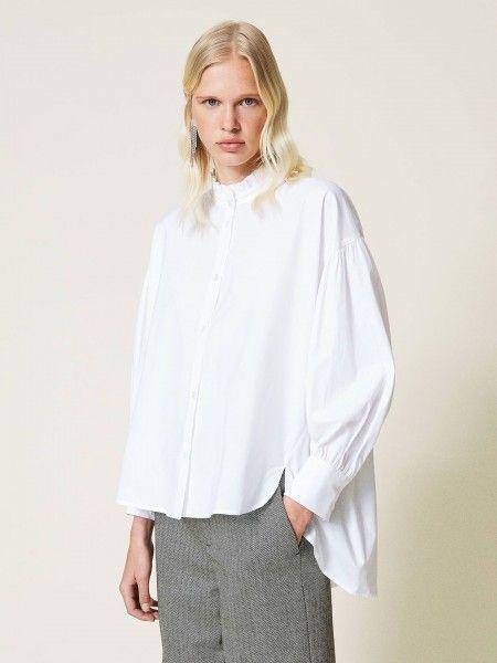 Camisa de Popeline Oversized