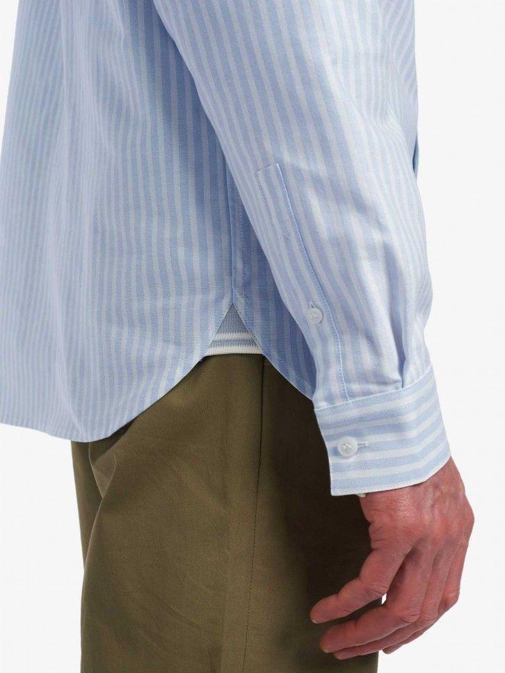 Camisa às Riscas Regular Fit