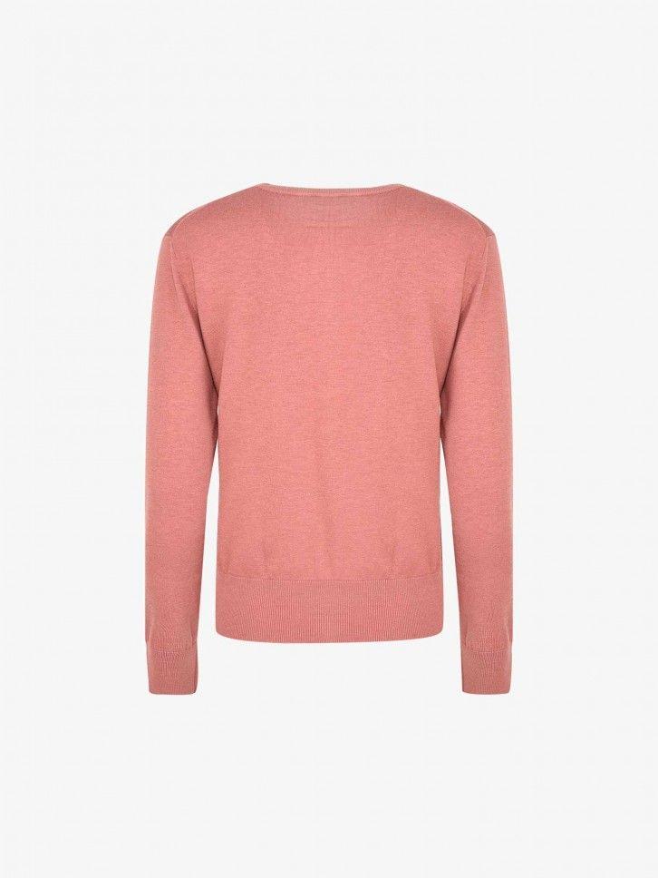 Conjunto Casaco e T-Shirt de Malha
