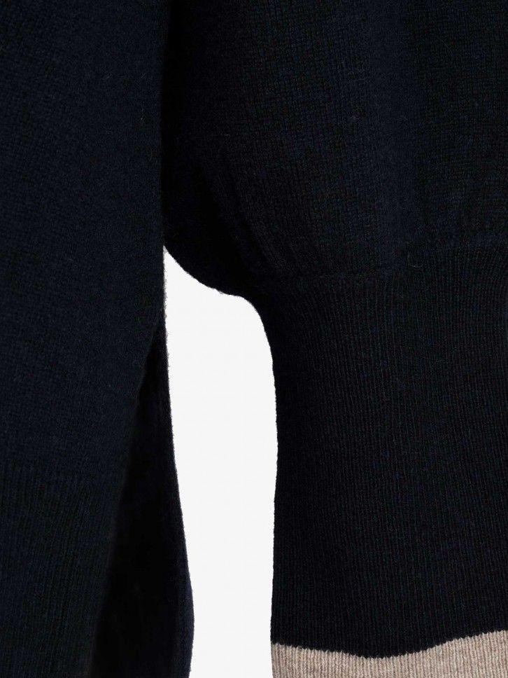 Camisola de Malha com Cachecol