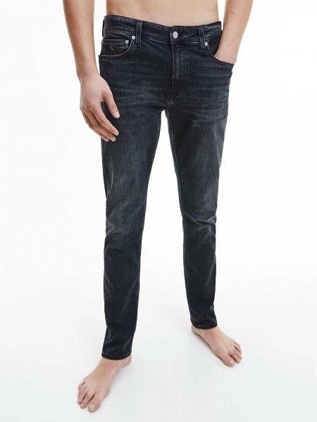 Calças de Ganga Slim Fit