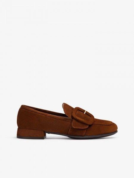 Loafers em Suede