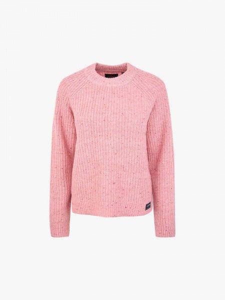 Camisola de Malha Tweed