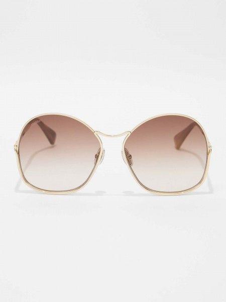 Óculos de Sol Formato Borboleta Oversized