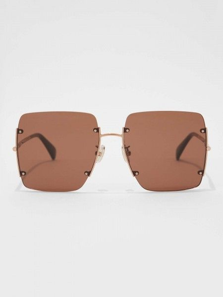 Óculos de Sol Quadrados Oversized