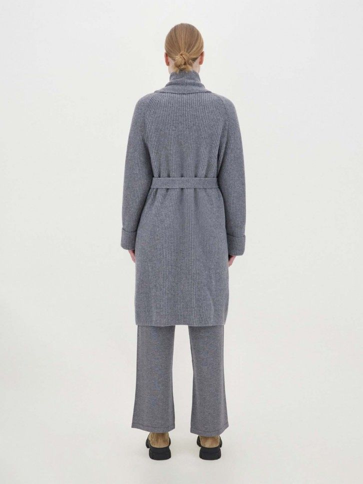 Casaco Comprido de Lã