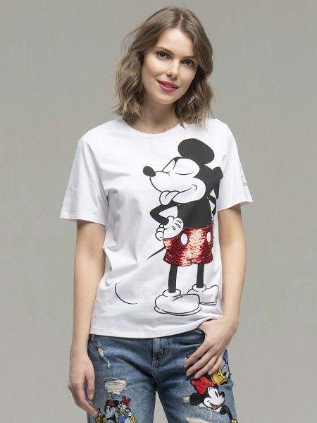 T-Shirt com Glitter