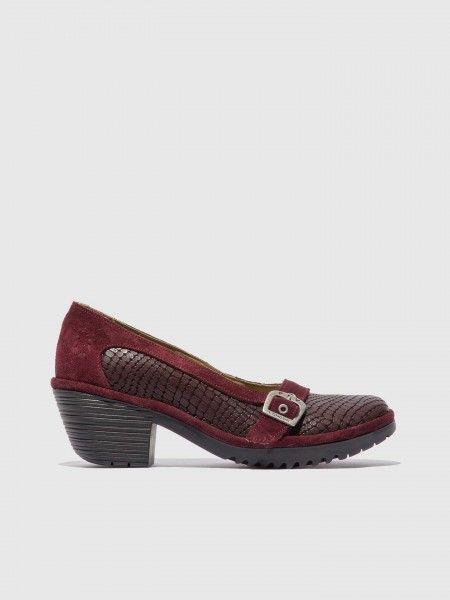Sapatos Slip-on de Salto Alto