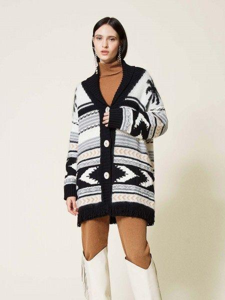 Casaco de Lã Comprido