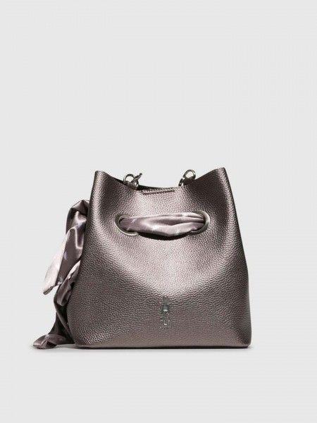 Bucket Bag com Lenço
