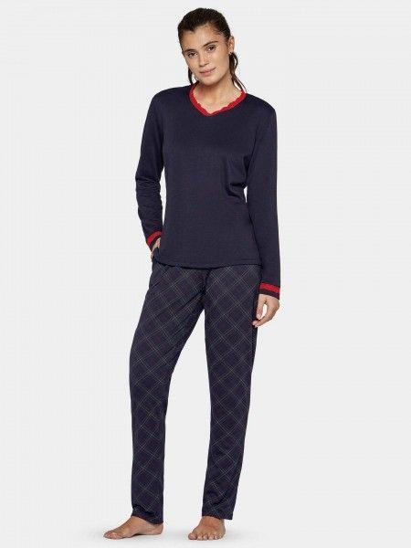 Pijama ao Xadrez