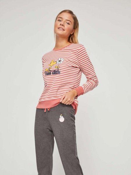 Pijama Estampado Peanuts